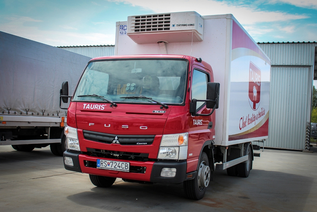 219 Tauris Acquires 14 Fuso Canter Units