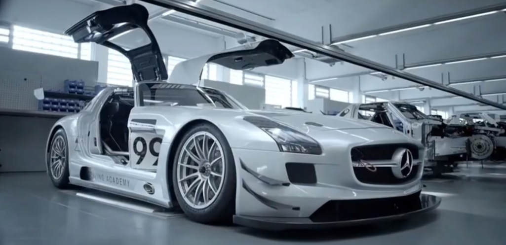 24 Video Shows Love For The Mercedes Benz SLS AMG GT3