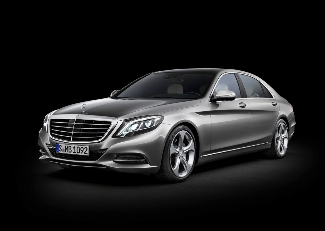 33 Frankfurt Launch For Latest Mercedes Benz S Class Coupe Concept Eyed