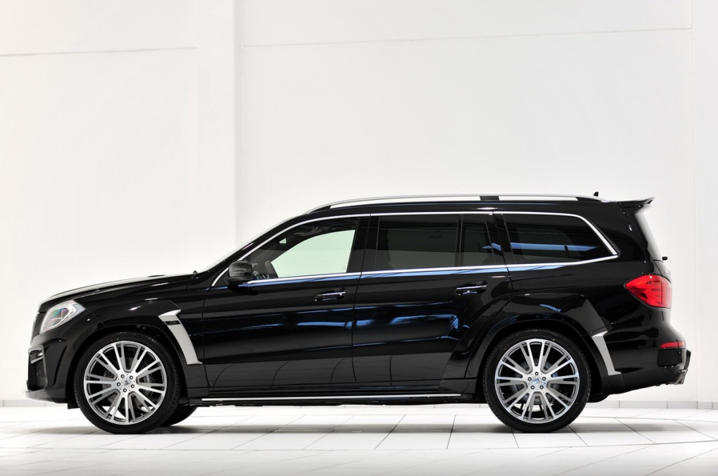 Mercedes benz gl63 amg given a makeover by brabus for Mercedes benz gl63