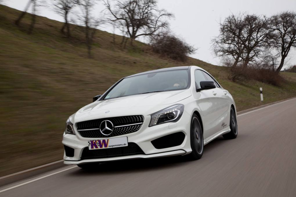 7 KW Provides Mercedes Benz With A New Coilover Suspension