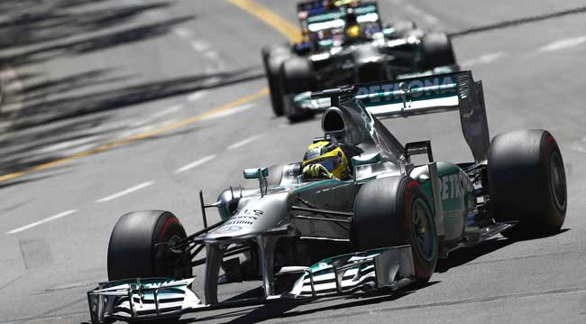 F1 Mercedes Nico Rosberg Lewis Hamilton [F1] Mercedes Aims to Build on Monaco Win at Canadian Grand Prix