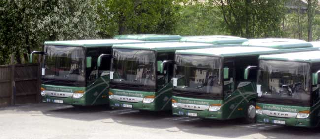 Largest Setra Bus Order from Sweden Setra Gets its Largest Bus Order from Sweden