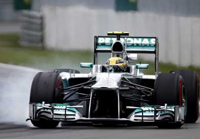Mercedes-AMG-Lewis-Hamilton-with-Podium-Finish-in-2013-Canadian-Grand-Prix