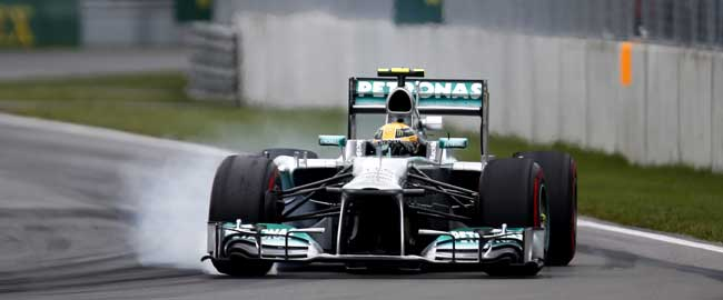 Mercedes AMG Lewis Hamilton with Podium Finish in 2013 Canadian Grand Prix [F1] Canadian GP: Hamilton with Podium Finish Behind Vettel and Alonso; Rosberg P5