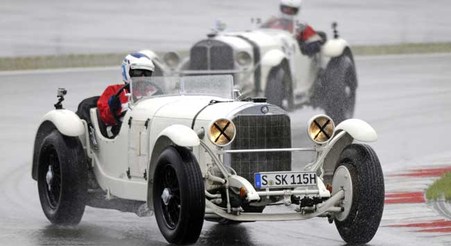 Mercedes Benz SSK Nurburgring Elephant Race ADAC Eifel Mercedes Benz SSK Booked for 2013 Elephant Race at Nurburgring