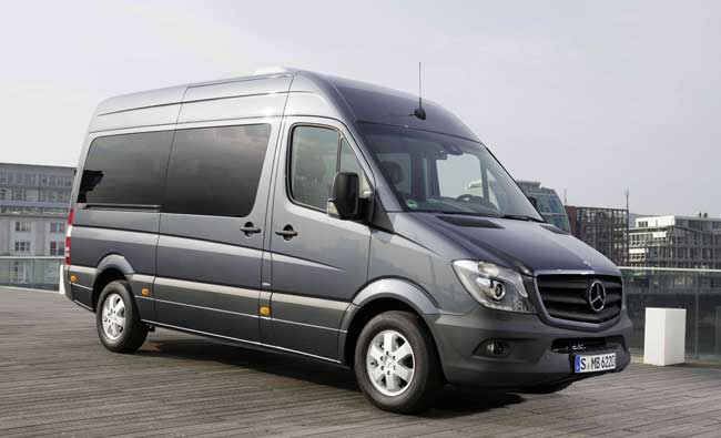 Mercedes Benz Sprinter Mercedes Benz Grabs Awards in 2013 Van Fleet World Honours