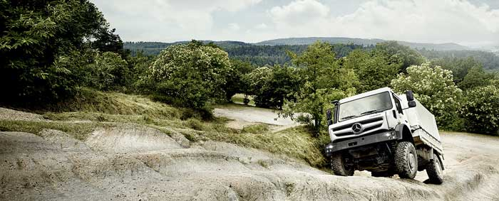 Mercedes Benz Unimog Off Road Vehicle of the Year Off Road Magazine Readers Vote Mercedes Benz Unimog Vehicle of the Year (Special Vehicles Category)