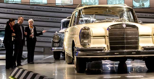 S Class Exhibition at Mercedes Benz Museum Mercedes Benz Museum Holds Special S Class Exhibition