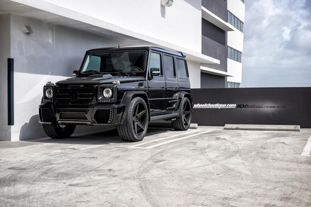 112 Customized Mercedes Benz G55 Made To Look Like A G63 By Advance One Wheels
