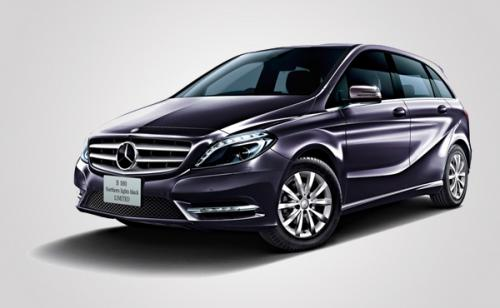 115 Mercedes Benz B180 Northern Lights Black Limited Launched In Japanese Market