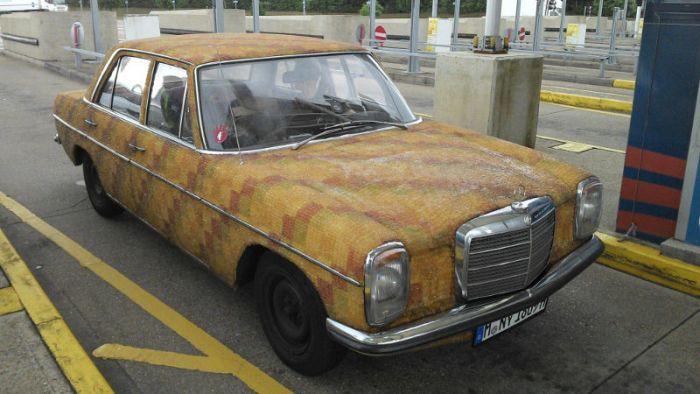 116 Gummy Bear Covered Mercedes Benz Spotted