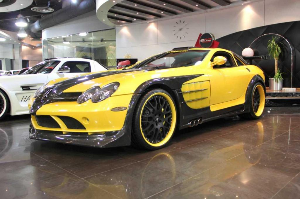 118 Customized Mercedes Benz SLR Available In Dubai