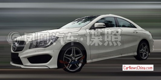 126 Mercedes Benz CLA With Long Wheelbase to Be Offered In China