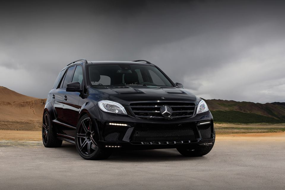 128 Images Of Mercedes Benz ML63 AMG Inferno Released By TopCar