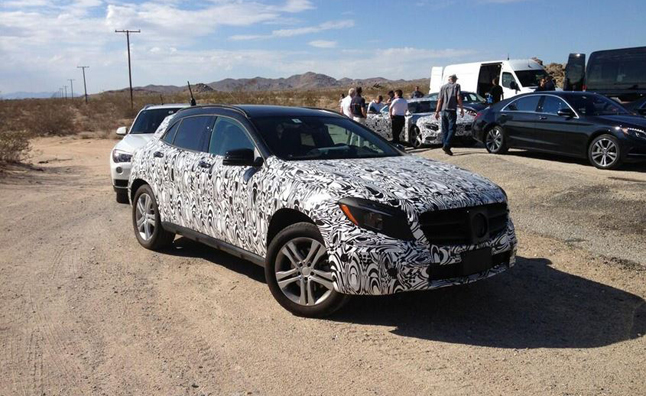 135 CEO Tweets Upcoming Mercedes Benz GLA
