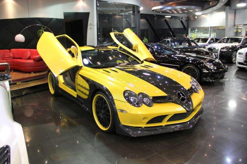 Customized mercedes benz slr available in dubai for Custom mercedes benz for sale