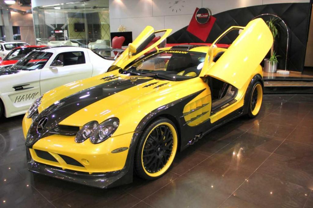 Customized Mercedes-Benz SLR Available In Dubai ...