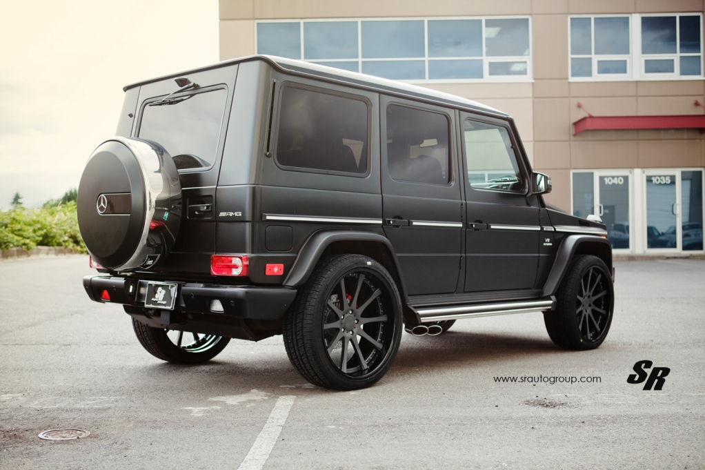 sr auto group gives the mercedes benz g63 amg a set of. Black Bedroom Furniture Sets. Home Design Ideas