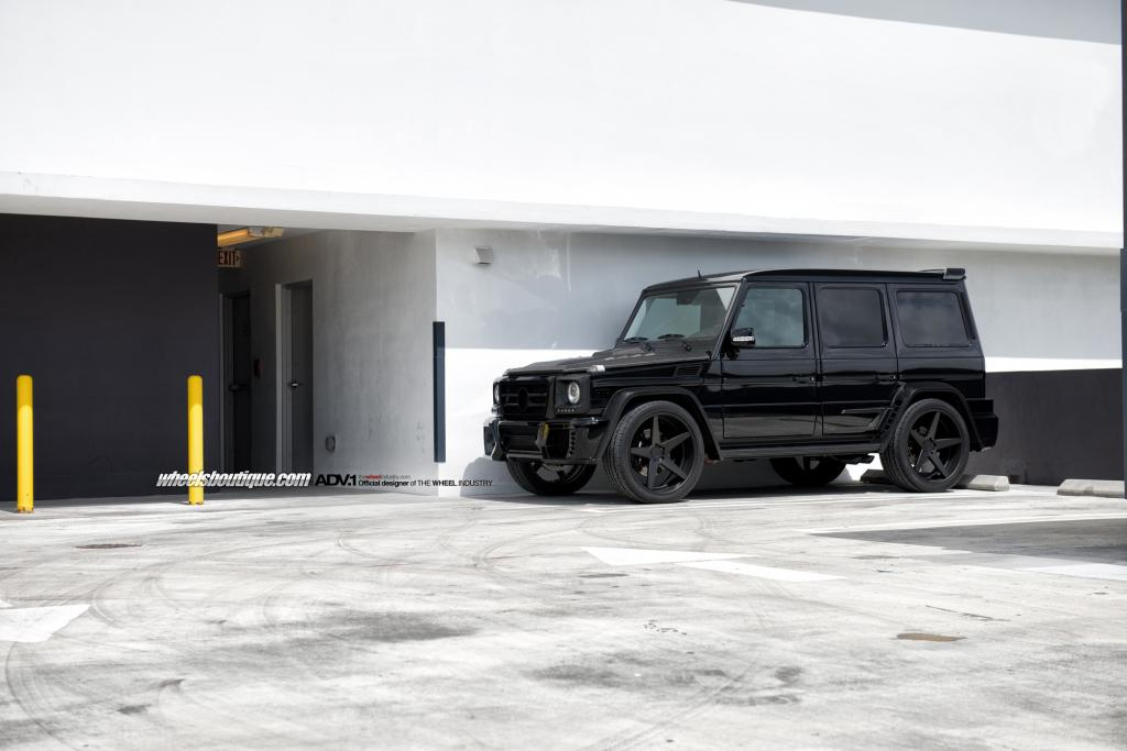 Customized mercedes benz g55 made to look like a g63 by for How much is a mercedes benz g63