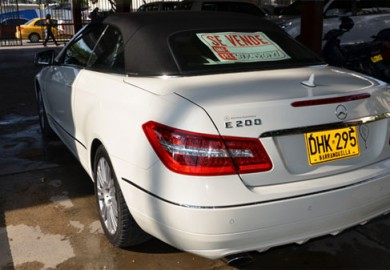Colombian-Priest-to-Sell-Mercedes-Benz-E200