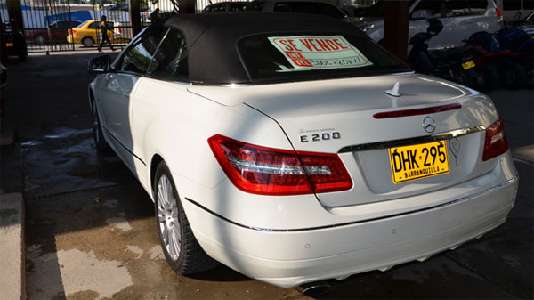 Colombian Priest to Sell Mercedes Benz E200 Colombian Priest Sells Mercedes Benz After Popes Plea