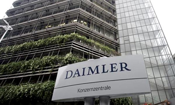 Daimler Group Global Mercedes Sales in November Breaks Record