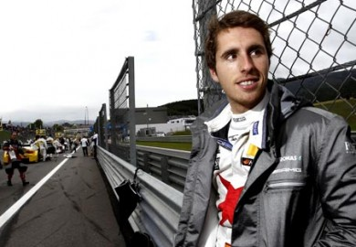 Daniel-Juncadella-Tests-for-Williams-in-F1-Young-Driver-Test