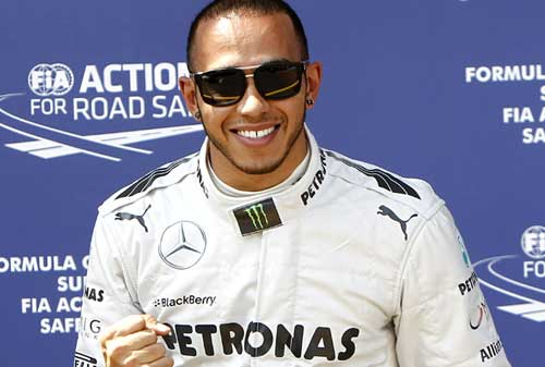 Lewis Hamilton Mercedes F1 2013 German Grand Prix Pole Position [F1] Hamilton Takes Pole in German Grand Prix