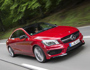 Mercedes Benz CLA C 45 AMG New Mercedes Benz A Class, B Class, CLA Class Models Available