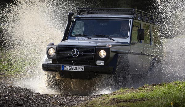 Mercedes Benz G Class for Swiss Army Swiss Army to Go With Mercedes Benz G Class 300 CDI