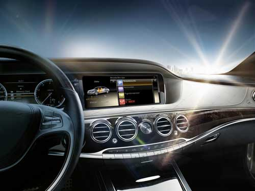 New s class gets genuine accessories and mercedes benz for Mercedes benz s class accessories