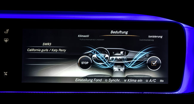 Mercedes Benz S Class Adjustable Fragrances Mercedes Benz Introduces S Class Fragrancing System at Fashion Week Berlin