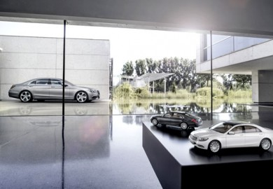 Mercedes-Benz-S-Class-Miniature-Scale-Models