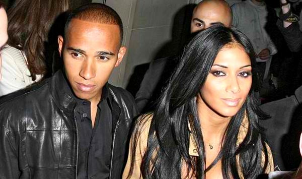 Mercedes F1 Driver Lewis Hamilton and Nicole Scherzinger during Happier Times Mercedes F1 Driver Lewis Hamilton Tweets About Lost Love