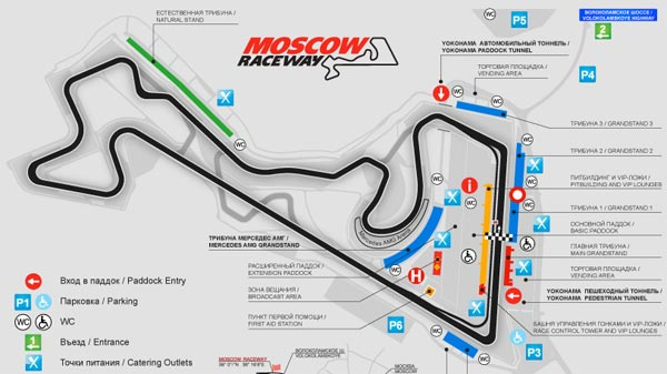 Moscow Raceway Inaugural DTM Race [DTM] Mercedes Benz Preps for First Race in Russia