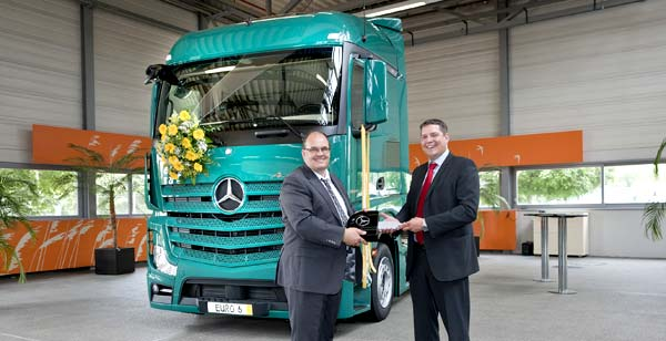 Spedition Bartkowiak Mercedes Benz Actros Euro VI Spedition Bartkowiak Adds Another Mercedes Benz Actros Euro VI