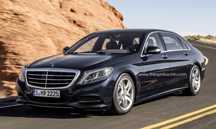 mercedes s600 pullman rendered the maybach successor is classy 2 724x434 Mercedes S600 Pullman Moving Closer To Reality
