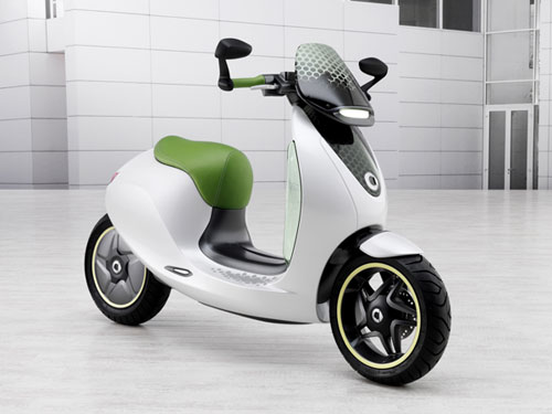 smart escooter Electric Scooter from smart Slated for 2014