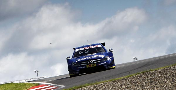 Gary Paffett DTM Mercedes Benz Moscow Raceway Russia Mercedes Benz with Poor Qualifying for First DTM Race in Russia