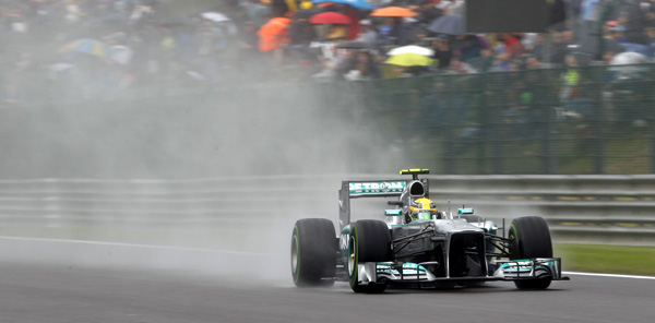 Lewis Hamilton Mercedes AMG Petronas 2013 Belgian Grand Prix Lewis Hamilton Had to Win Belgium for Mercedes