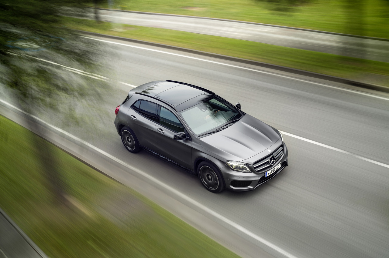 l 5 2015 Mercedes GLA Officially Revealed