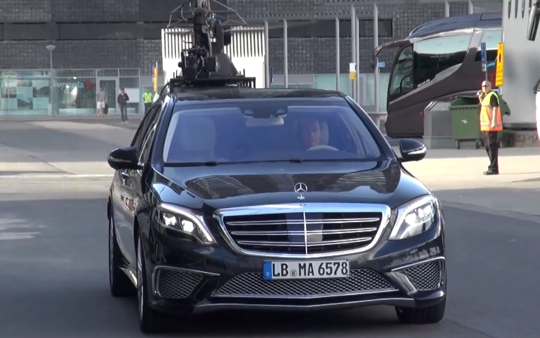 11 Video Shows Upcoming 2014 Mercedes Benz S65 AMG During A Photo Shoot