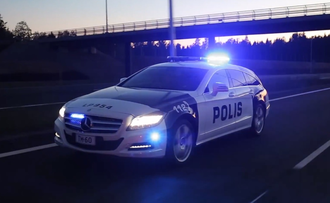Mercedes Benz CLS Shooting Brake CDI 4MATIC Mercedes Benz CLS Shooting Brake CDI 4MATIC Given To Finnish Police