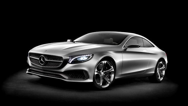 Mercedes Benz Concept S Class Coupe Mercedes Benz Concept S Class Coupe Showcased at Frankfurt