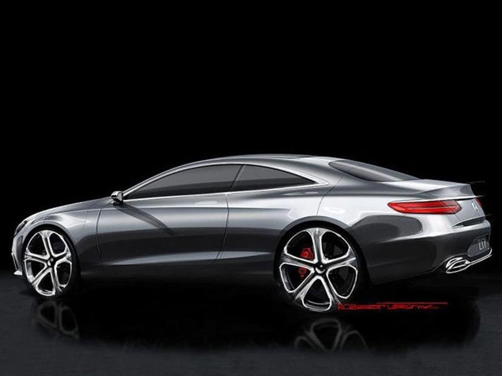 design sketches of mercedes benz s class coupe concept released a mercedes. Black Bedroom Furniture Sets. Home Design Ideas