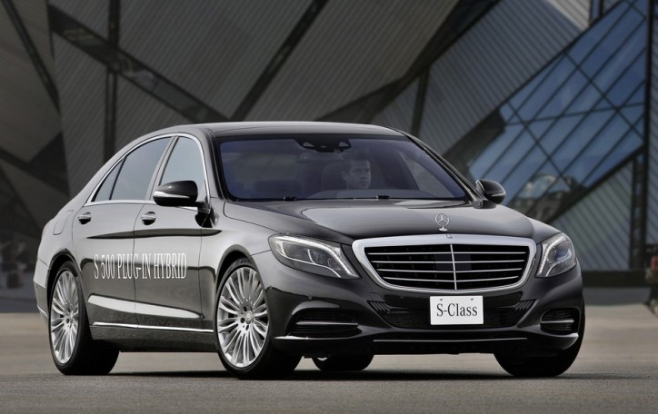 Frankfurt Motor Show May Feature The Mercedes-Benz S500 Plug-In Hybrid