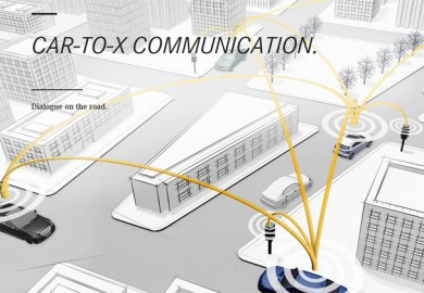 Mercedes-Benz Showcases Its Car-to-X Communication