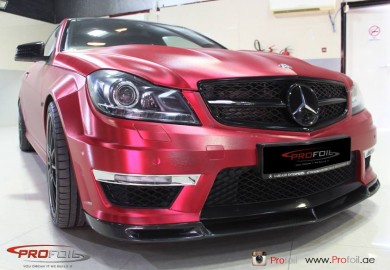 Mercedes-Benz C63 AMG Spruced Up