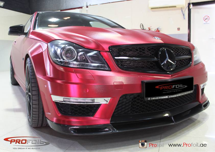 22 Mercedes Benz C63 AMG Spruced Up
